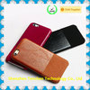 Real cow fiber leather for apple phone cover, for iphone 7 genuine leather case
