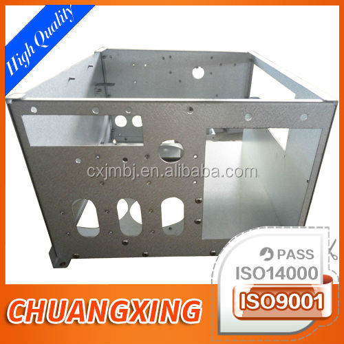 custom sheet metal silk screening CNC mould punch cabinet build assembly OEM processing fabrication ISO9001 accredited factory