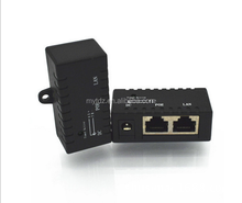 Gigabit <span class=keywords><strong>Pasif</strong></span> POE enjektörü power over ethernet duvara montaj LED ve 2.1mm x 5.5mm DC konektörü