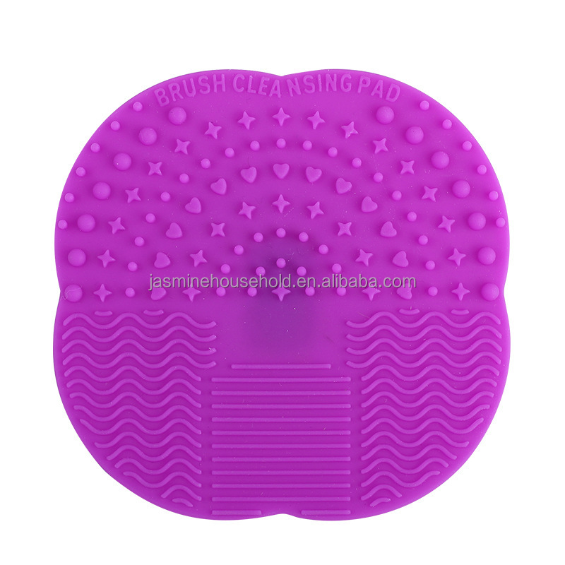 makeup brush cleaner silicone. makeup brush cleaning pad cleansing palette silicone cleaner - buy product on alibaba.com