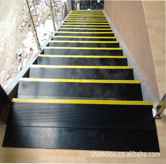 Rubber Stair Tread, Rubber Stair Tread Suppliers And Manufacturers At  Alibaba.com