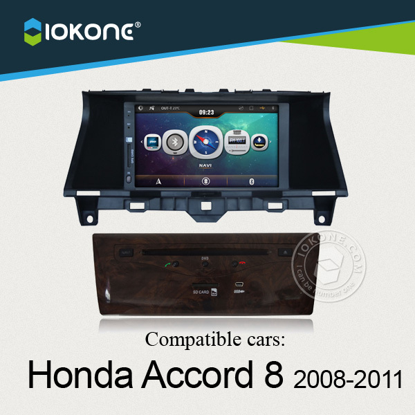 China factory offer OEM Central multimedia For Honda Accord 8 2008 to 2011