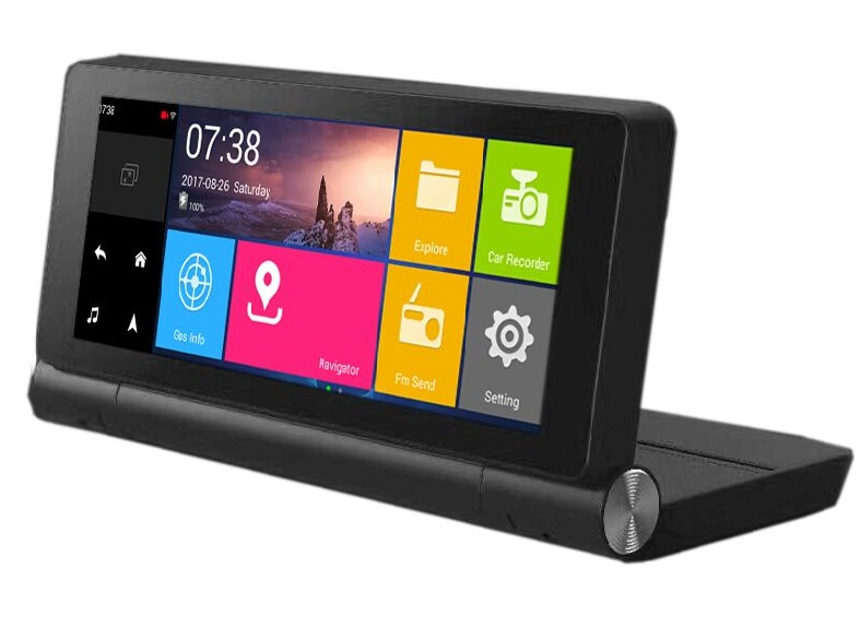 Android car monitor with GPS/ DVR/wifi/BT
