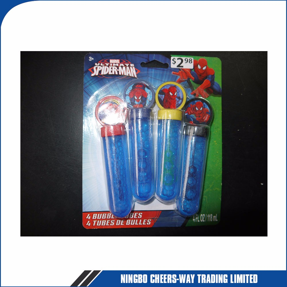 Colorful Series Soap Bubble Sticks Toy Maker Bottle