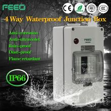 Ip 66 plastic electronical polyester Exterior wall mounting junction box for Electronics