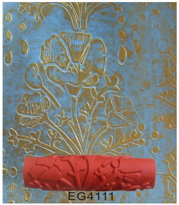 acheter 10 polegada peinture rouleau en caoutchouc avec motif outils pour la. Black Bedroom Furniture Sets. Home Design Ideas