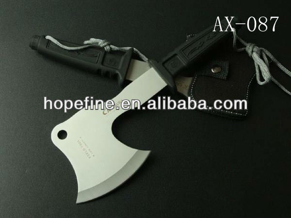 Damascus Hunting Axe