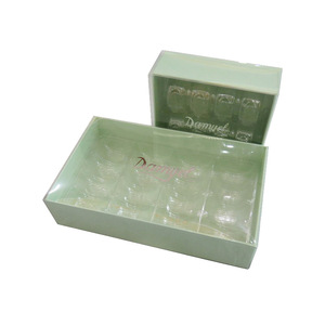 bespoke clear PVC lid gift presentation boxes wholesale