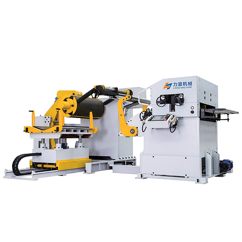 3 in 1 hydraulic uncoiler straightener feeder for press and cutting