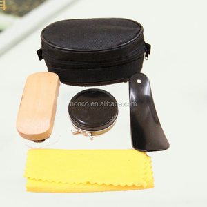 Hot selling and cheapest promotion shoe shine kit for gift