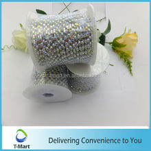 high quality wholesale chain with crystals/sew on czech crystal chain