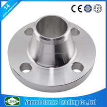 ANSI 150 stainless steel weld neck pn10 dn80 flange
