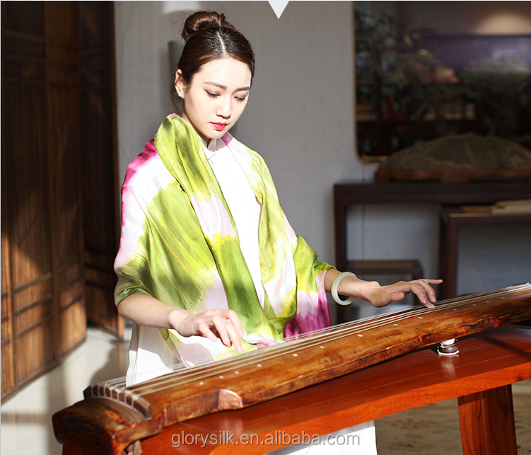 Good quality silk scarf printing with great price