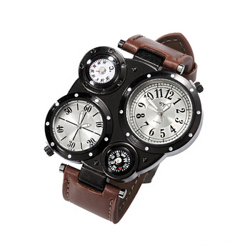388ec285a9da Brújula militar relojes de los hombres de la marca de relojes de deporte  impermeable reloj deportivo