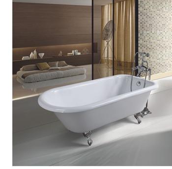 Soaking Enamel Bath Simple Bathtub Small Hot Tub