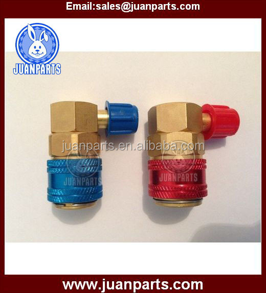 r134a quick coupler for refrigerion Air conditioning system