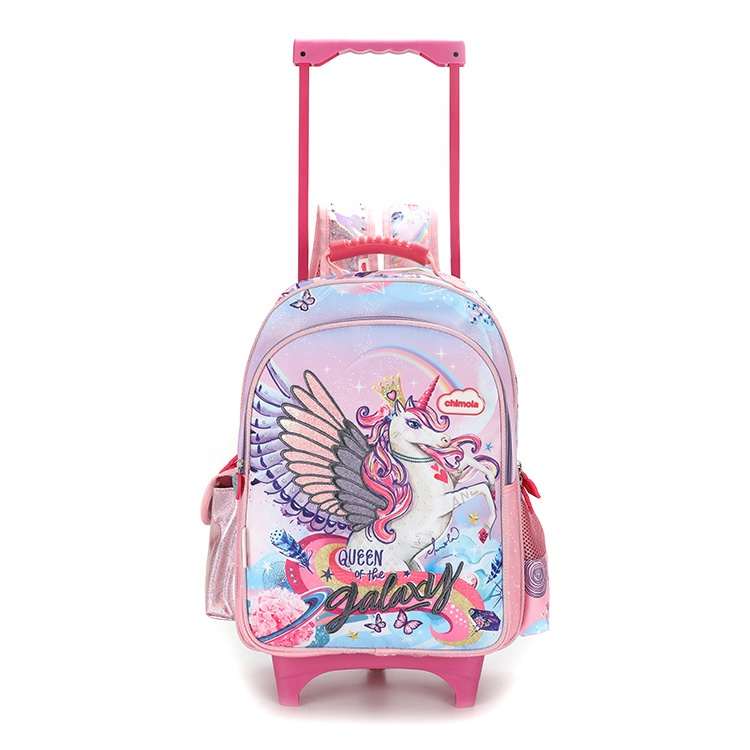 3d cartoons print children backpack school bag for boys kids children  trolley school bags for girls 69a04c6b10b12