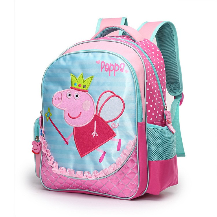 Custom Logo Europese Cartoon Kids Kinderen schooltas Rugzak Meisjes Made in China
