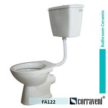 Sanitary Ware P Trap Ceramic Low Level Wc Toilet Fa122