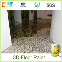 Top Popular 3D Epoxy Flooring Concrete Painting Product