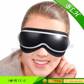 Eye massager with music