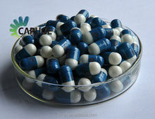 Halal empty hard gelatin capsules size 2 3 4 two color