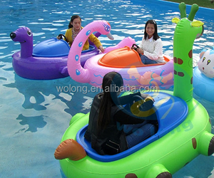 Hot selling kids water toy bumper boats for sale