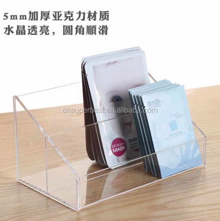 Customize acrylic material face masks display rack