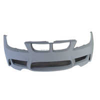 E90 1M Auto PU Unpainted Grey Primer Tuning Car Front Bumper for BMW E90 05-08