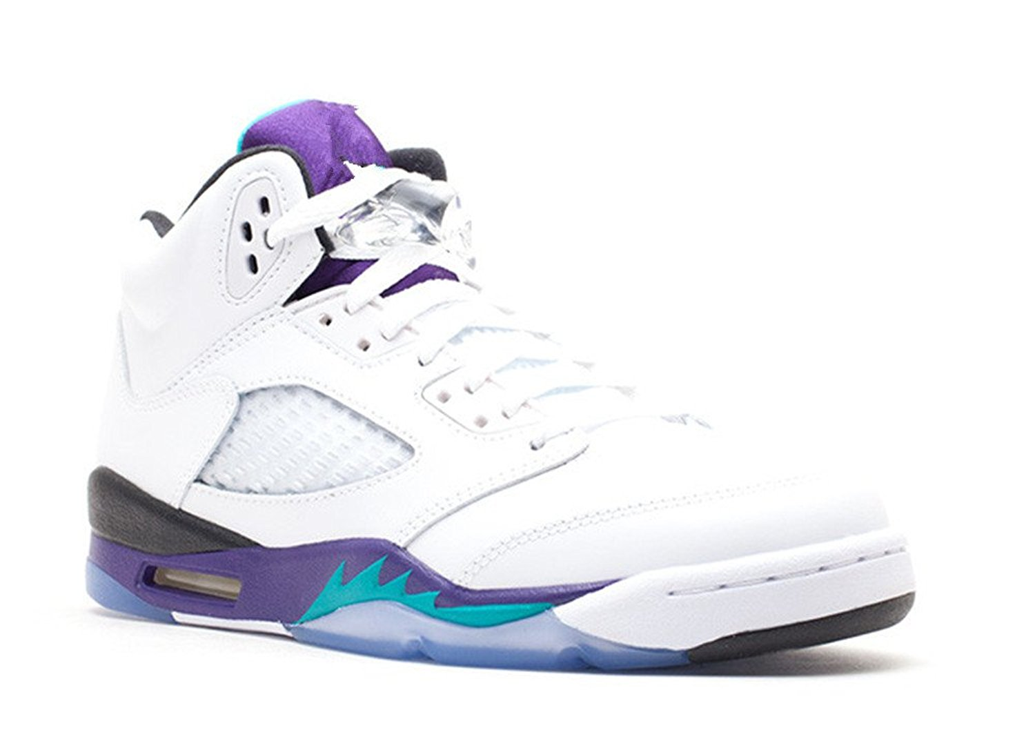 e9871c40eb16 Get Quotations · Mrs Annabel Day Men s Basketball Shoe Air Jordan 5 Retro  gs grape 2013 release White new