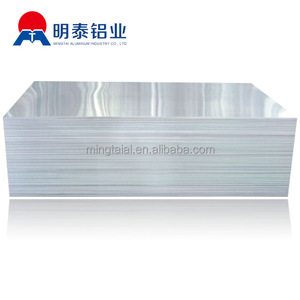 6000 series 0.5mm mill finish reflective Alloy aluminum sheet price per square meter, 2mm thick aluminum zinc roofing sheet