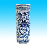 chinese handpainted blue and white chinese vase for sale