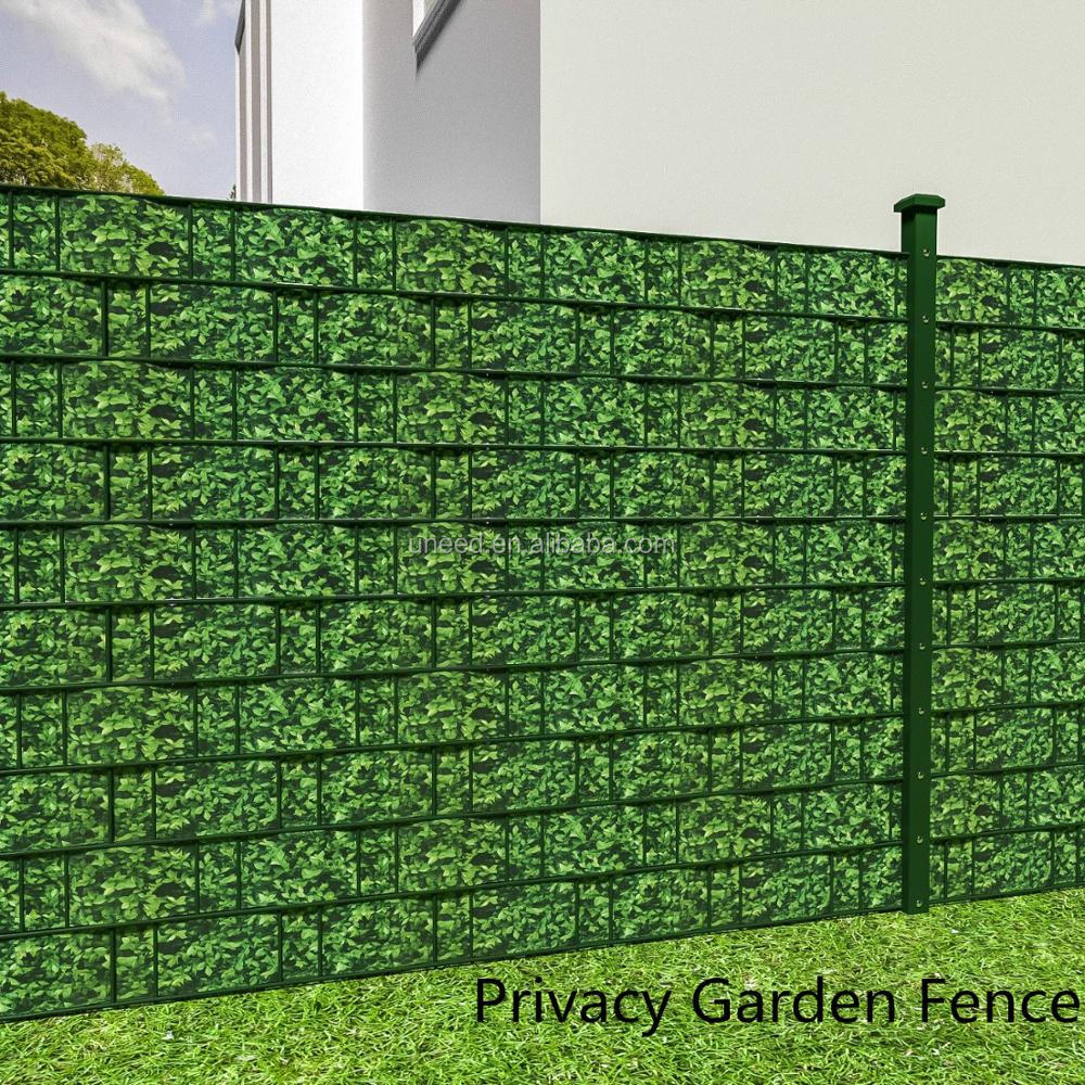 High Quality 630g M2 19cm 35m Pvc Strip Screen Garden Fence