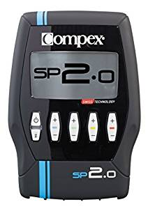 Compex SP 2.0 Muscle Stimulator - Recovery, Prevent Injury, Improve Performance, Pain Relief, Effective Electrostimulation, Tones Your Muscles, Training, Minimum Exercise, Helps Sculpt Your Body by Co