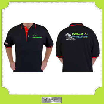 Custom Button Pp Mens Work Uniform Printed Polo Shirts