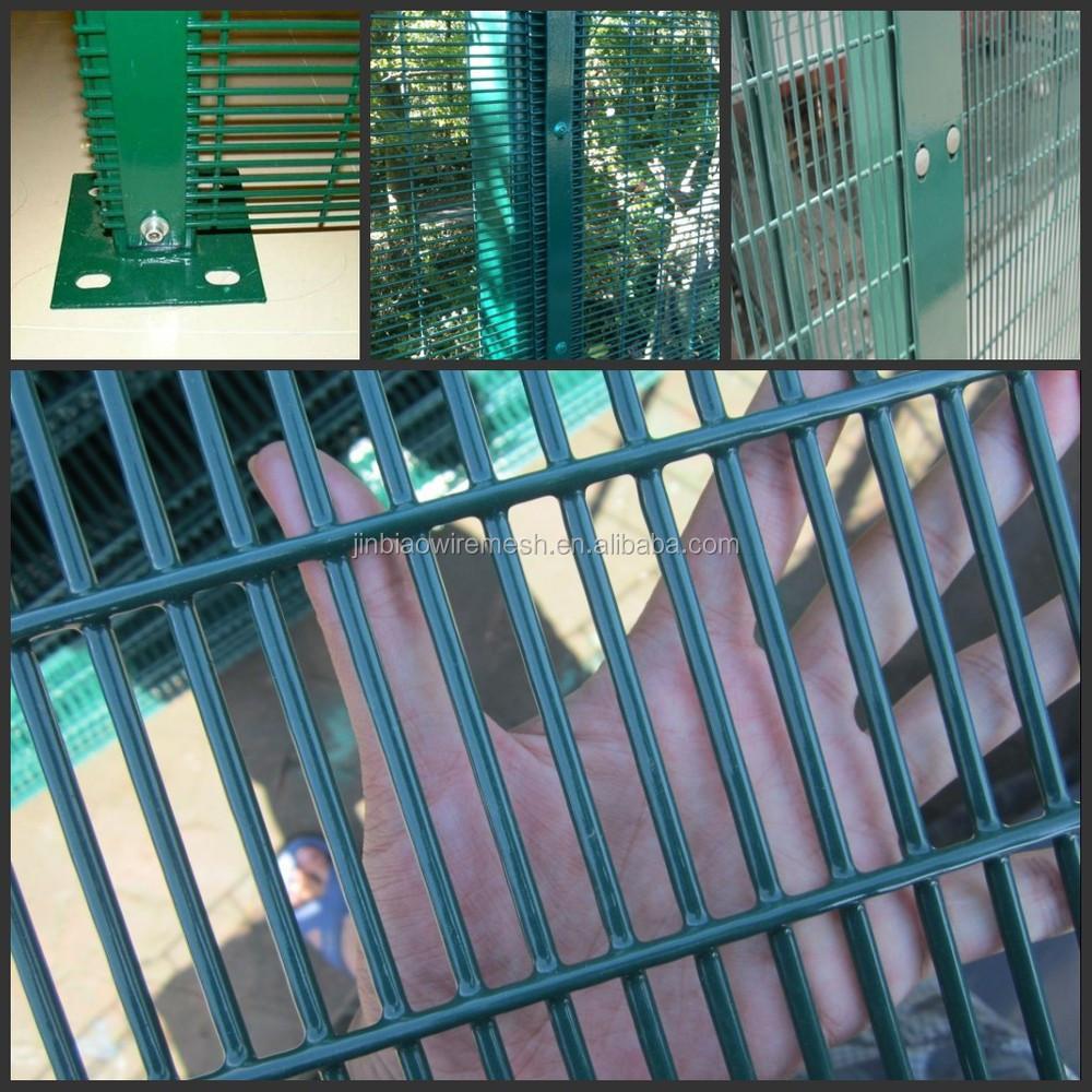 Anti Subir e Anti Corte Aeroporto Prisão Arame farpado Da Cerca De Segurança 358 Cerca