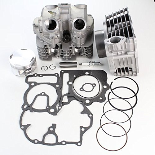 NICHE Cylinder Head Intake and Exhaust Valve Kit for Honda Sportrax TRX400EX 1999-2008