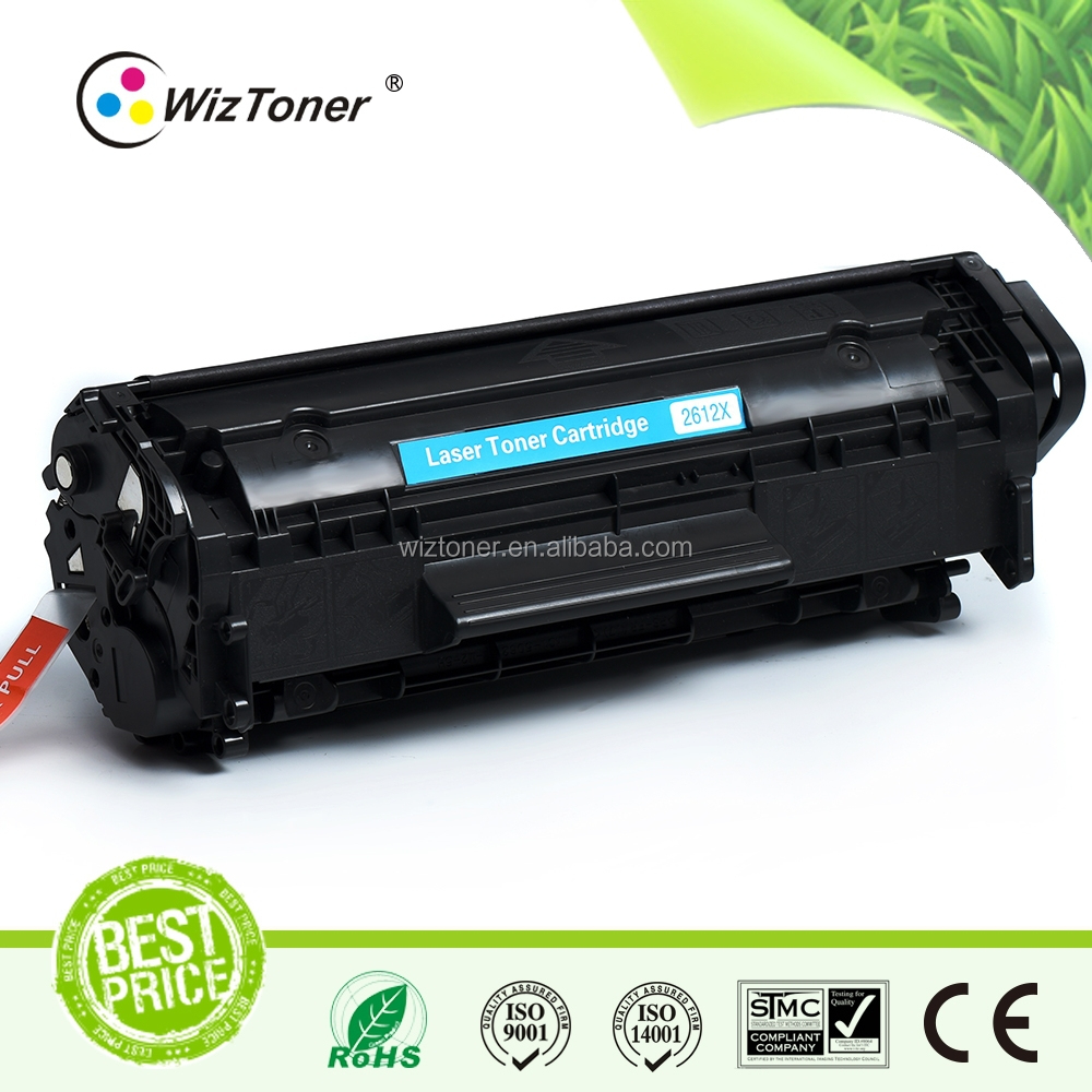 Compatible toner cartridge for HP 2612X