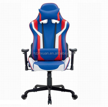 England Ocean Style New Design Most Appreciated Cool Blue Color Pu Leather  Gaming Computer Chairs Racing