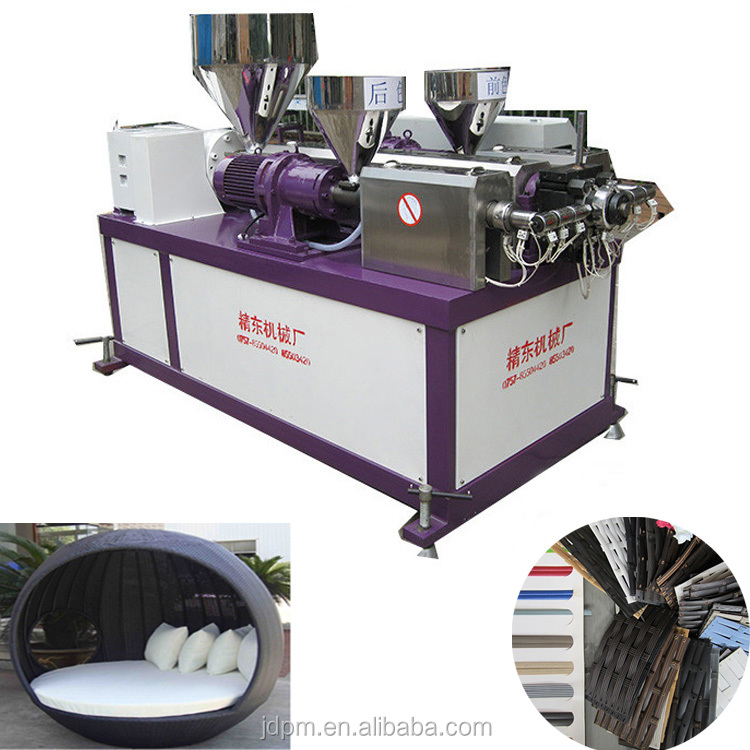 Artificial Plastic PP Rattan Making machinery