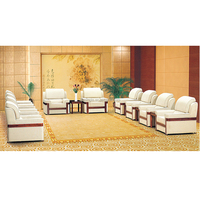 luxury design VIP room sofa set office conference room sofa