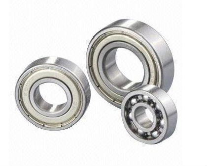 Deep Groove Ball Bearing with Two Seal Rings and Radial Internal Clearance of C3:Steel Drawn Cup