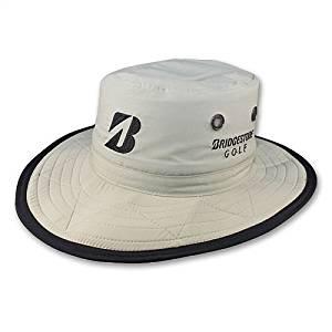 Bridgestone Boonie Hat (Khaki, S/M) Wide Brim Golf