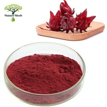 High Quality Roselle Rose Eggplant Extract Powder