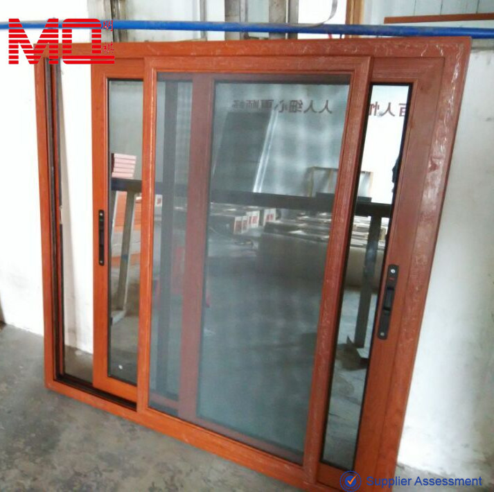 Commercial Window Frames With Sliding Flyscreen Fly Net
