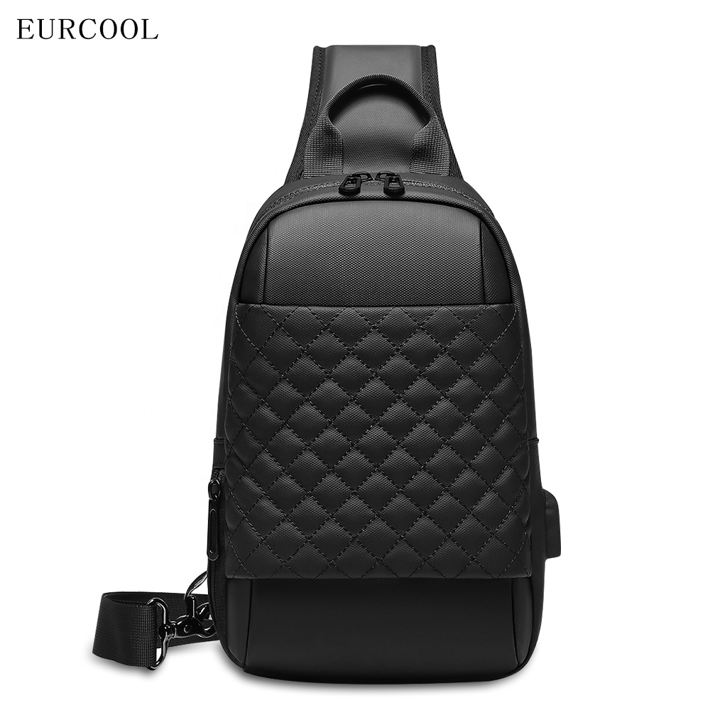 2019 Eucrool new style custom ulzzang fashion single anti theft man  messenger crossbody bag shoulder  for college students