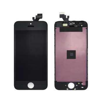 China manufacturers cell mobile phone spare parts,mobile phone screen for iphone 5 lcd display