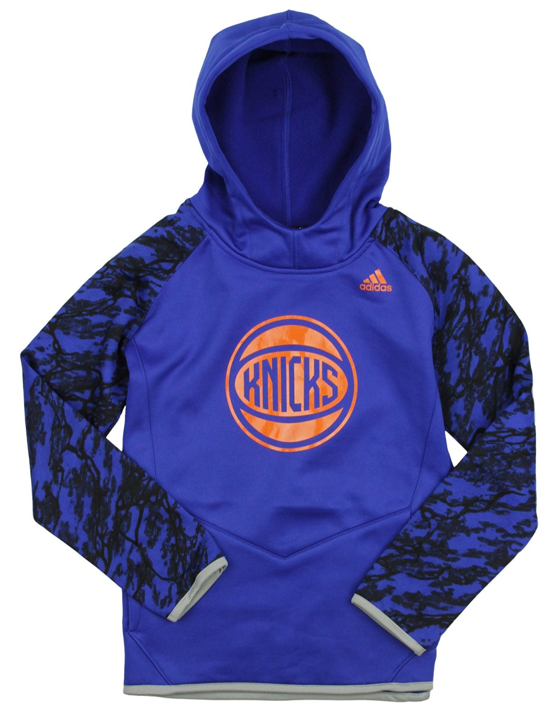 New York Knicks NBA Big Boys Immortal Hoodie - Blue