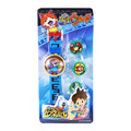2016 DX Yo kai Watch Japan Anime Yokai Watch 24 patterns Projection Watch Medal Kids Boys