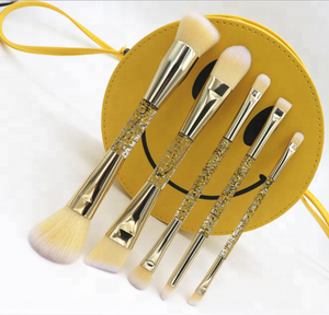 2018 new 5pcs double head makeup beginners portable makeup brush beauty dressing Kit